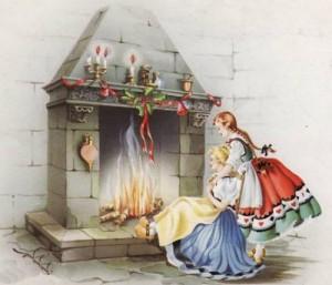 Buche-Noel-cheminée